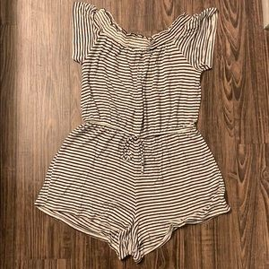 Pacsun striped romper